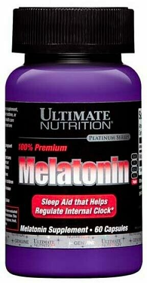 Melatonin 3 мг Ultimate Nutrition 60 капс