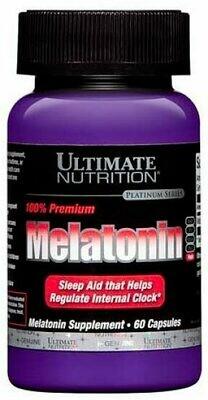 Melatonin 3 мг Ultimate Nutrition 60 капс