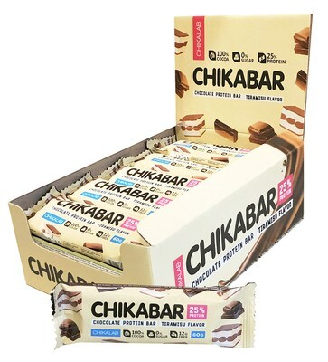 Chocolate Protein Bar Chikalab 60 г