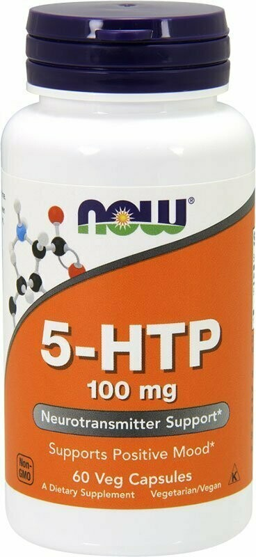 5-HTP 100 мг Now