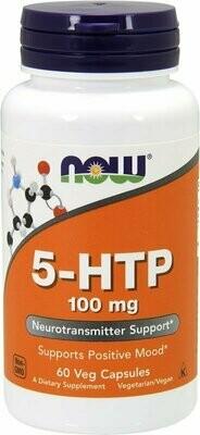 5-HTP 100 мг Now  60 капс