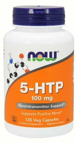 5-HTP 100 мг Now  120 капс