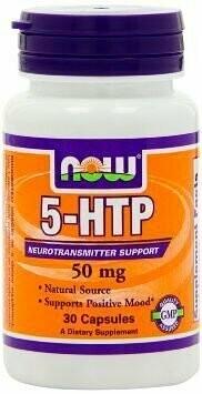 5-HTP 50 мг Now 30 капс