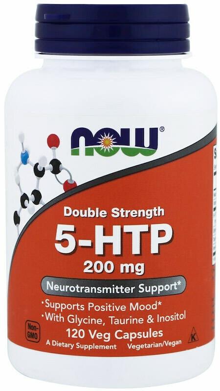 5-HTP 200 мг Now 120 капс