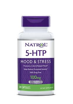5-HTP 100 мг Natrol 30 капс