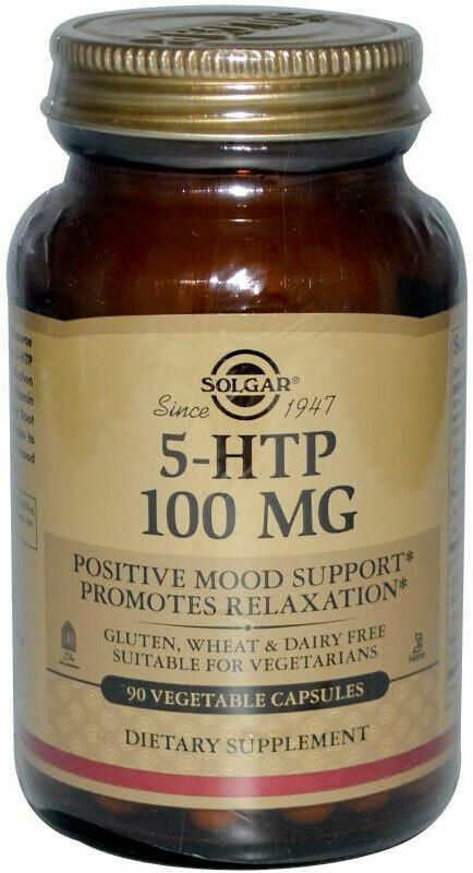 5-HTP 100 мг Solgar 90 капс
