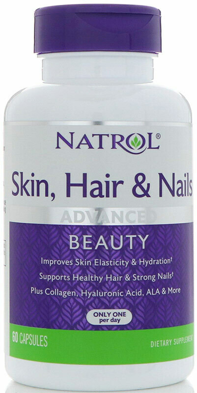 Skin Hair Nails Women`s Natrol 60 капс