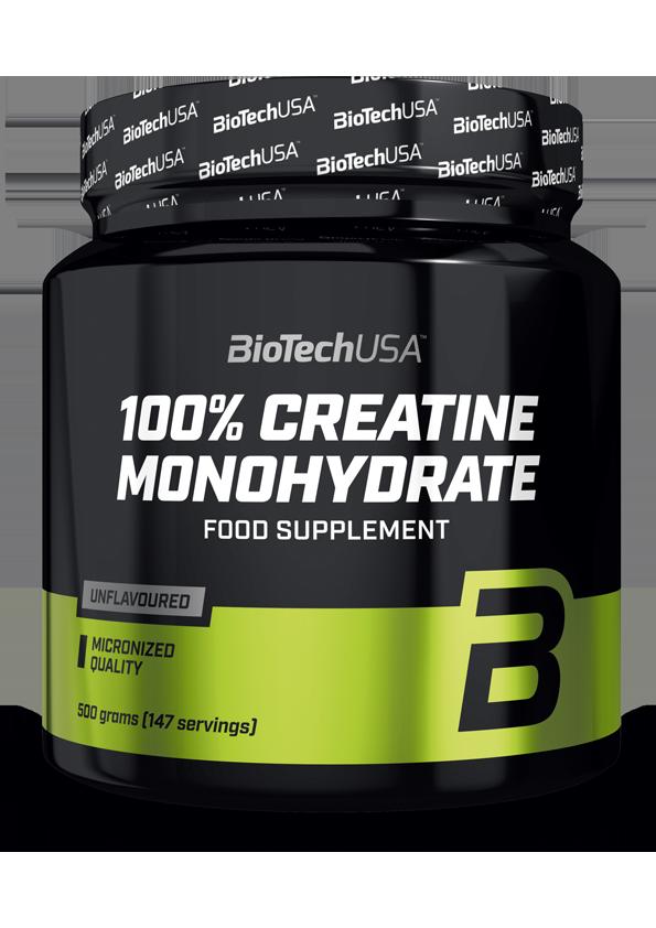 100 % Creatine Monohydrate BioTech USA 500гр.