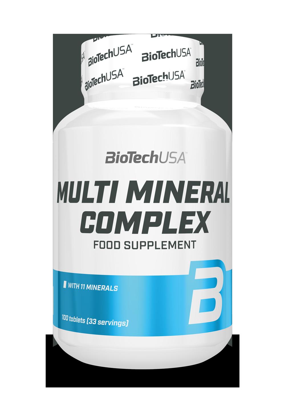 Multi Mineral Complex Biotech USA 100 табл.