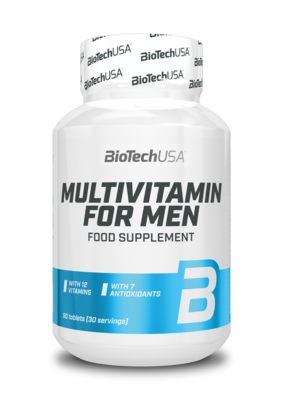 Multivitamin for Men Biotech USA 60 табл.