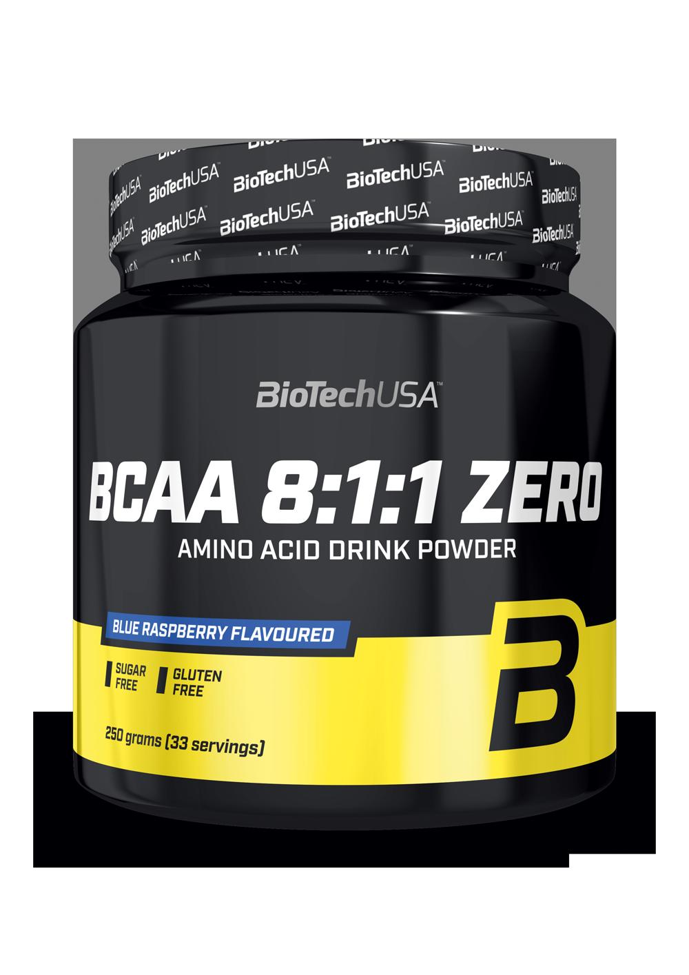 BCAA 8:1:1 ZERO Biotech USA 250 гр.
