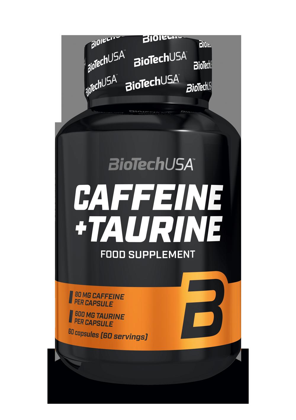 Caffeine + Taurine BioTech USA 60 капс.