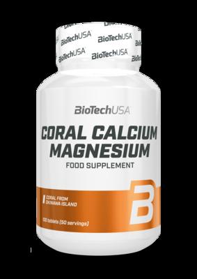Coral Calcium + Magnesium BioTech USA 100 табл.
