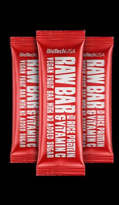 Raw Bar 40 гр. BioTech USA 28шт.