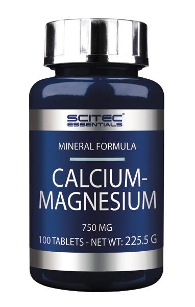 Calcium-Magnesium Scitec Nutrition 100 таб
