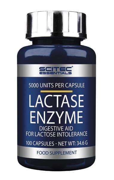 Lactase Enzyme Scitec Nutrition 100 капс.