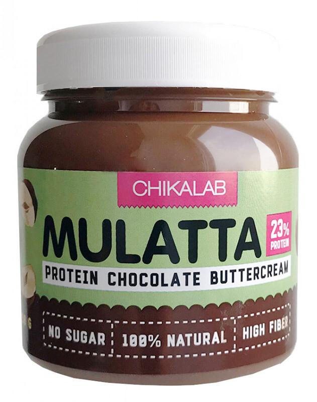 Mulatta Протеиновая шоколадная паста с фундуком Chikalab 250 г