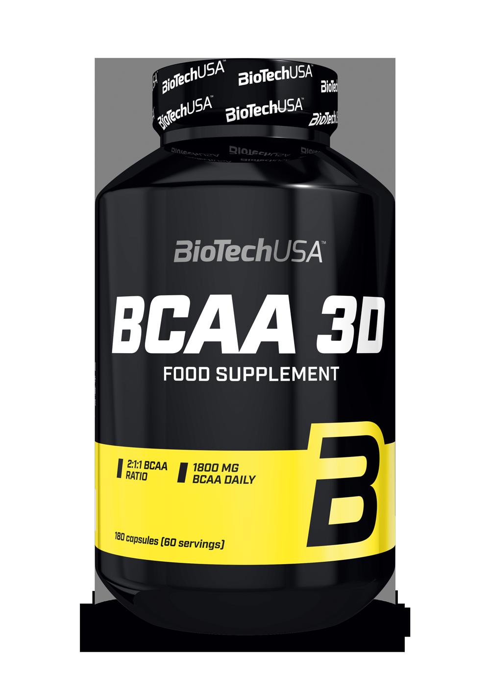 BCAA 3D BioTech USA 180капс.