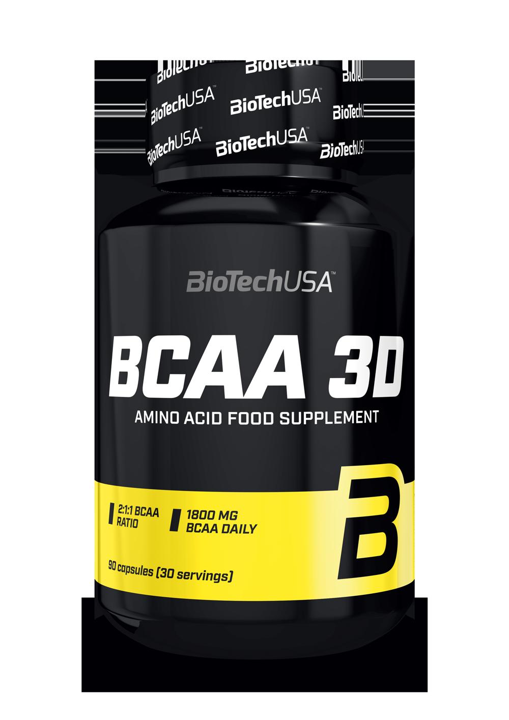 BCAA 3D BioTech USA 90капс.