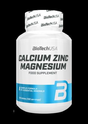 Calcium Zinc Magnesium BioTech USA 100 таб