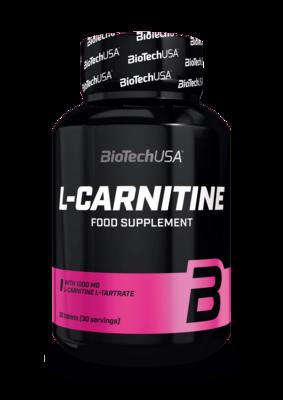 L-Carnitine 1000 мг BioTech USA 30 табл.