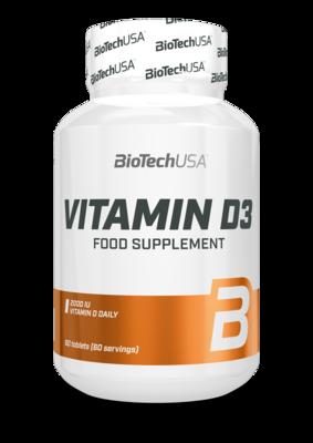 Vitamin D3 BioTech USA 60 капс.