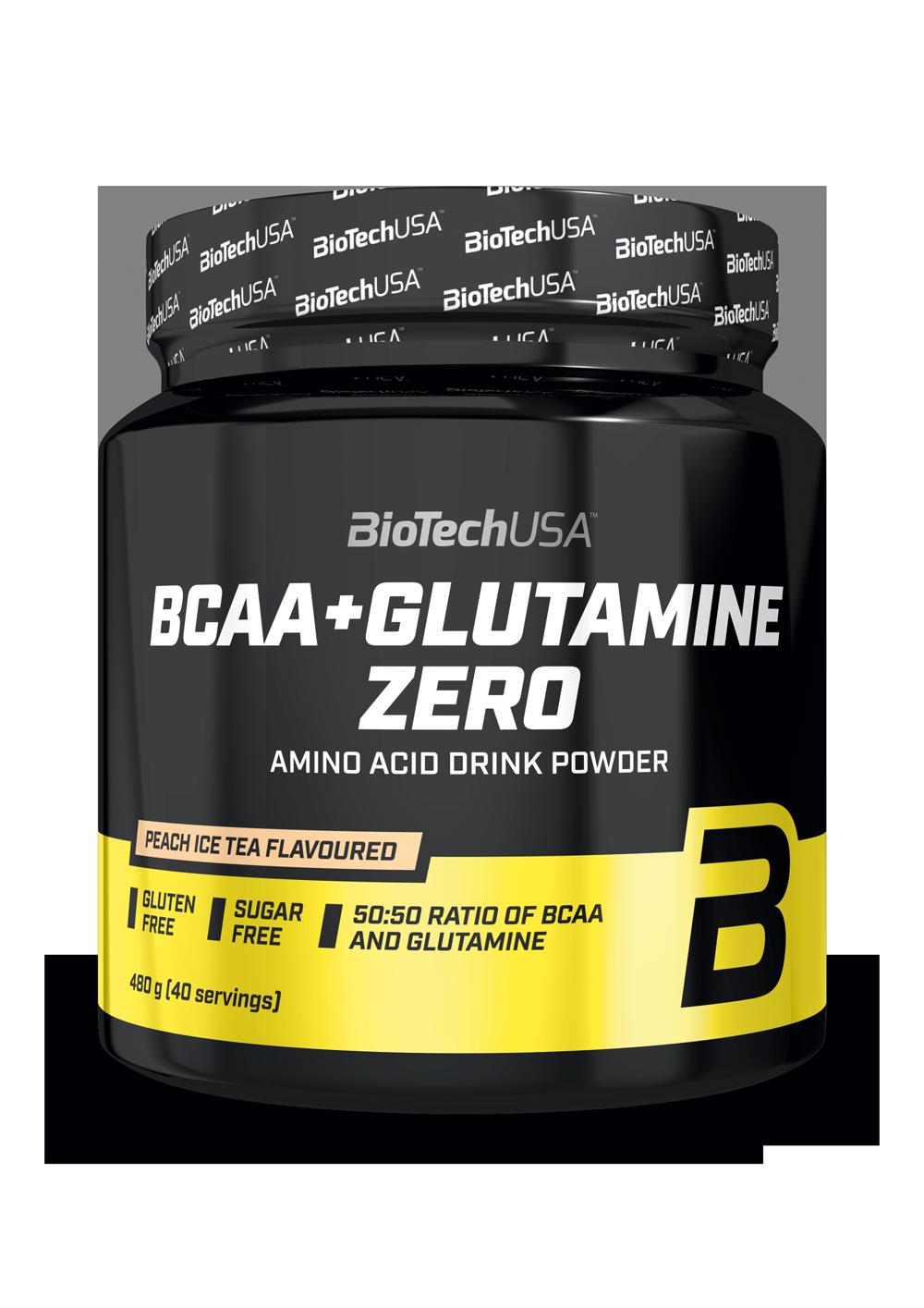Bcaa + Glutamine Zero BioTech USA 480 гр.