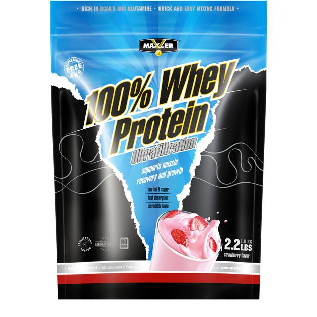 100% Whey Protein Ultrafiltration Maxler 2270 г