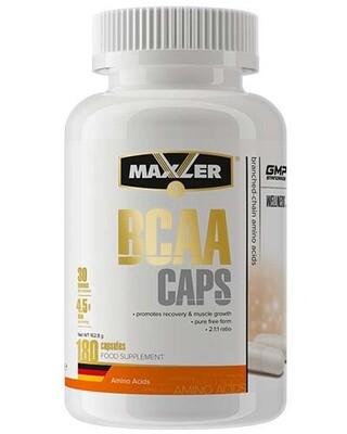 BCAA Maxler 180 капс.