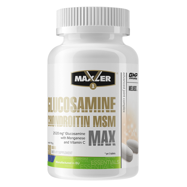 Glucosamine-Chondroitin-MSM MAX Maxler 90 таб.