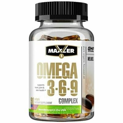 Omega 3-6-9 Сomplex Maxler 90 капс.