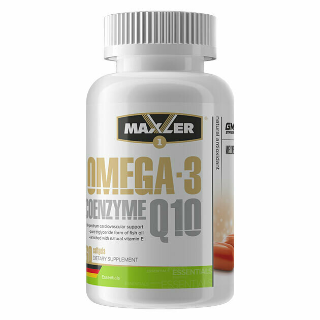 Omega-3 Coenzyme Q10 Maxler 60 капс.