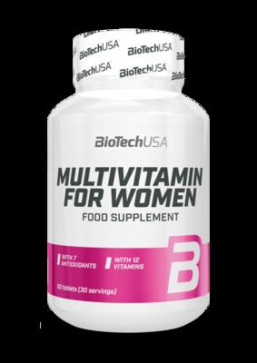 Multivitamin for women BioTech USA 60 табл