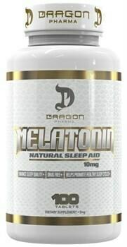 Melatonin 10mg  Dragon Pharma Labs 100капс