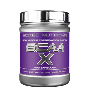 BCAA-X  Scitec Nutrition 330капс.