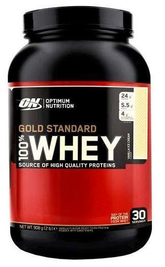 100% Whey Gold Standard Optimum Nutrition 900гр.