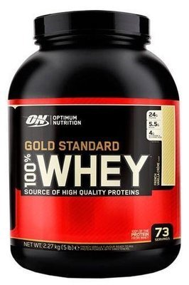 100% Whey Gold Standard Optimum Nutrition   2270гр.