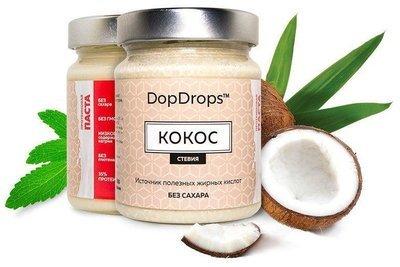 Кокосовая паста (протеиновая) DopDrops 265гр.
