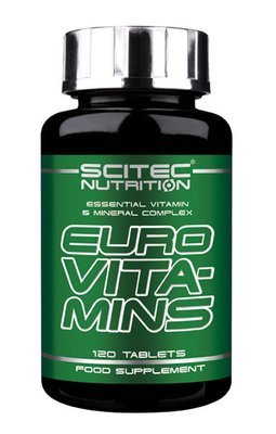 Euro Vita-Mins Scitec Nutrition 120 табл.