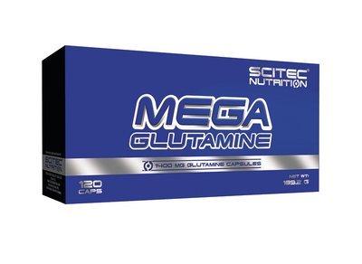 Mega Glutamine Scitec Nutrition 120 капс.