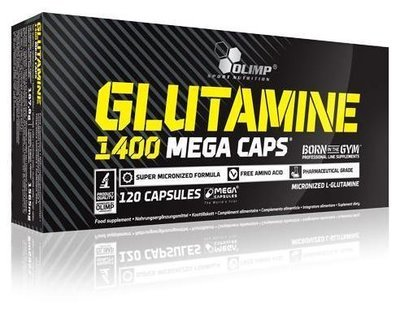 Glutamine Mega Caps Olimp 1400