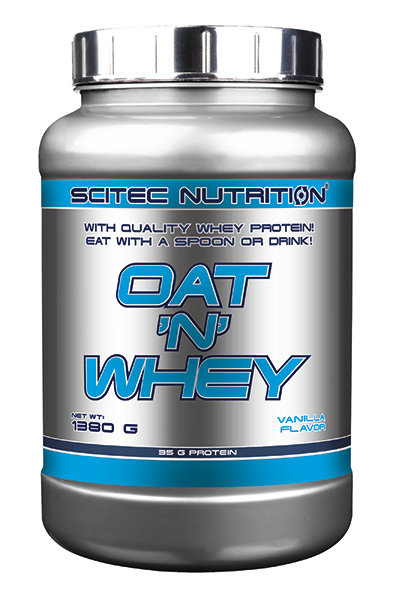 OAT N WHEY Scitec Nutrition 1380 гр