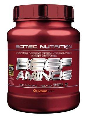 Beef Aminos Scitec Nutrition 500 табл.