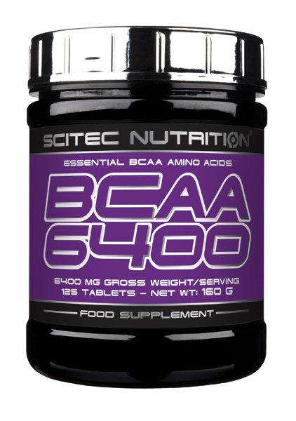 BCAA 6400 Scitec Nutrition 125 табл.