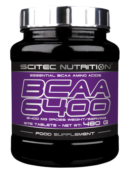 BCAA 6400 Scitec Nutrition 375 табл.