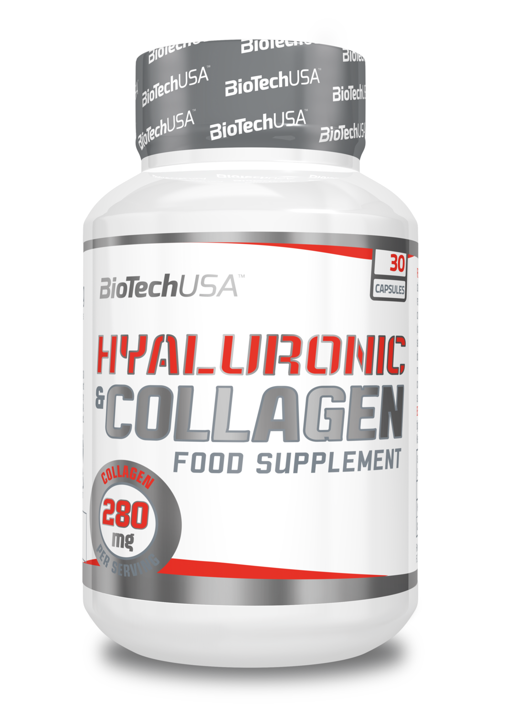 Hyaluronic & Collagen BioTechUSA 30 капс.