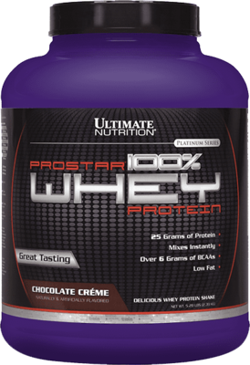 Prostar 100% Whey Protein Ultimate Nutrition 2270гр.