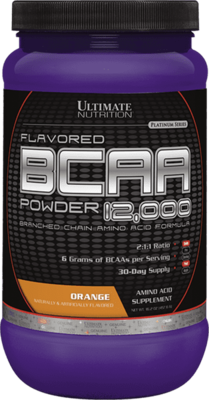 BCAA 12000 Powder Ultimate Nutrition 457гр.