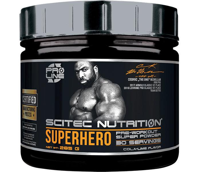 SUPERHERO Scitec Nutrition 285гр.