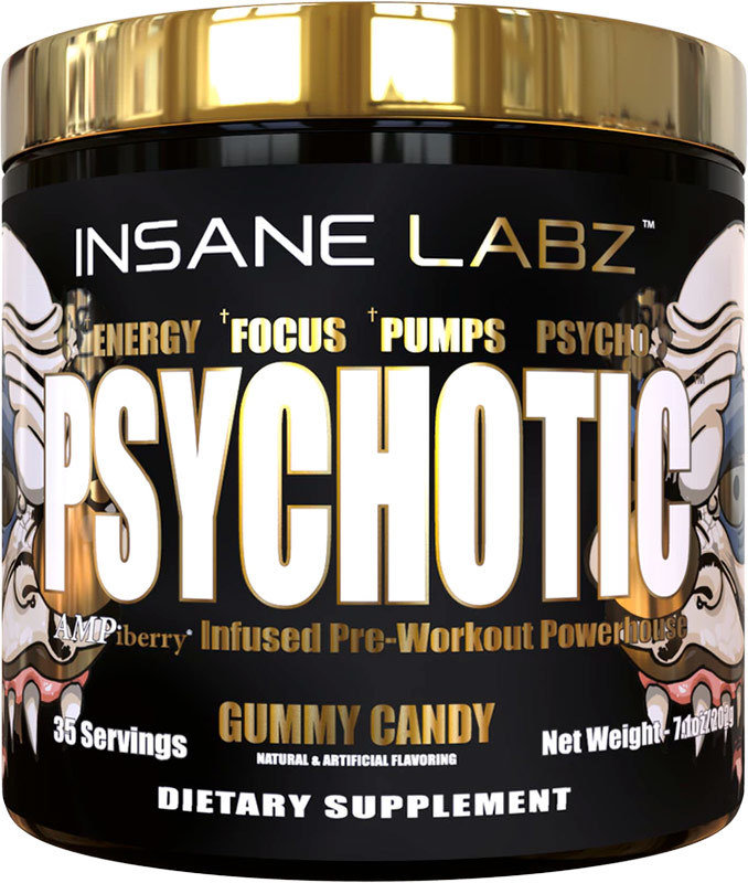 Psychotic Gold Insane Labz 202 гр